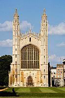 Cambridge King's College, chapell, (1446-1515) Cambridgeshire, England