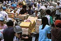 Binh Tay market, Cholon, Ho Chi Minh City. Vietnam