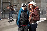 Teen skateboarders