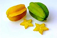Carambola, Averrhoa carambola, Star Fruit