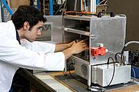 RF (Radio Frequency) furnace, Particle technology, Aerospace Unit. Fundación Inasmet-Tecnalia, Centro de Investigación, Parque Tecnologico de San Seba...