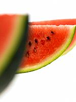 Three Watermelon slices