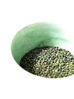 Bowl of Green Lentils