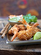Coconut_coated shrimps
