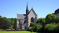 Germany, Streithausen, Verbandsgemeinde Hachenburg, Nister, Nister valley, nature reserve Kroppach Switzerland, Westerwald, Rhineland-Palatinate, Stre...
