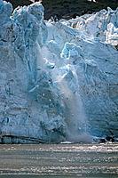 Ice Calving off Lamplugh Glacier Glacier Bay NP AK SE Summer