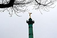 Column of July. Bastille Square. Paris