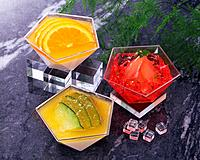 Fruit Jelly, High Angle View