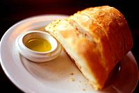 Crusty French Bread and Olive Oil (thumbnail)