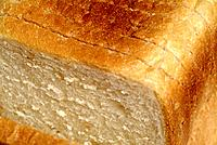 Abstract View Of A Sliced White Loaf Of Bread
