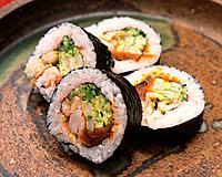 Large roll, sushi