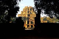 Temple of Prasat Thom, Site of Koh Ker, capital of the Angkorian kingdom in the 10 th. century, by king Jayavarman IV, province of Preah Vihar, Cambod...