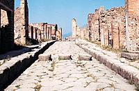 Pompeii, Italy, Europe, Front View, Pan Focus