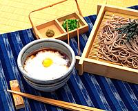 Tororo Soba, High Angle View
