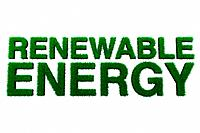 Renewable energy sign