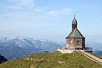Germany, Bavaria, Wallberg, chapel