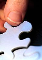 Placing puzzle piece