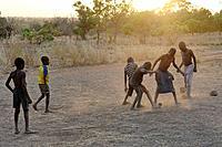 Lobi village of Niobini. Burkina-Faso. Western Africa