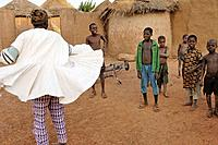 Village of Moba tribe. Togo. Western Africa.
