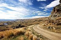 Old Dunstan Trail, Central Otago, South Island, New Zealand