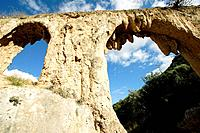 Roman aqueduct. Astros, Arcadia, Pelopponese, Greece