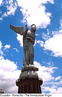 Ecuador _ Panecillo _ The Immaculate Virgin