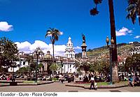 Ecuador _ Quito _ Plaza Grande