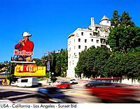 USA _ California _ Los Angeles _ Sunset Bld