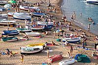 Tossa de Mar. Costa Brava, Girona province, Catalonia, Spain