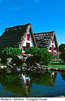 Portugal _ Madeira _ Santana _ Triangular house
