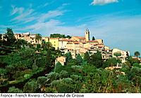 France _ French Riviera _ Chateauneuf de Grasse