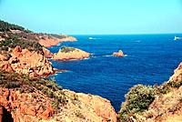 France _ French Riviera _ Massif of Esterel _ Calanque Saint Barthelemy