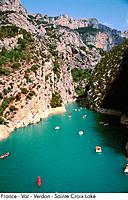 France _ Var _ Verdon _ Sainte Croix Lake