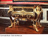 Palace of Versailles _ Commode Boule _ Salon de Mercure