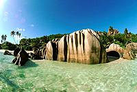 The Seychelles _ Digue Island _ Anse Source d'Argent