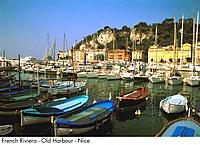 French Riviera _ Old Harbour _ Nice