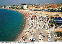 French Riviera _ Nice _ Beach and Old Town