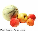 Melon _ Peaches _ Apricot _ Apple
