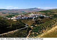 Spain _ Andalousia _ Torre Alhaguime _ Road of White Villages Spain