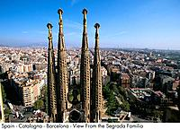 Spain _ Barcelona _ View from the Segrada Familia View from the Segrada Familia
