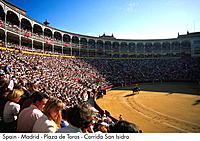 Spain _ Madrid _ Plaza de Toros _ Corrida San Isidro Spain