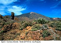 Spain _ Canary Islands _ Tenerife _ teide 3718 m _ Los Roques Spain