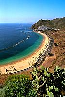 Spain _ Canary Islands _ Tenerife _ Playa las Teresitas