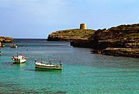 Spain _ The Balearics _ Minorca _ Cala d'Alcaufar