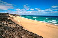 Spain _ Canary Islands _ Fuerteventura _ Playa de Tierra Dorada