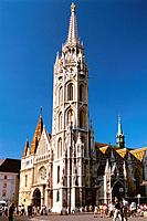 Hungary _ Buda _ Mathias Church