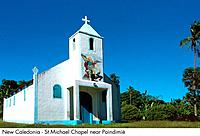 New Caledonia _ St Michael Chapel near Poindimie