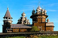 Russia _ Onega Lake _ Kiji Island _ Transfiguration Church