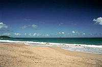 French Caribbean _ Caribbean Islands _ Guadeloupe _ Basse Terre _ Cluny Beach