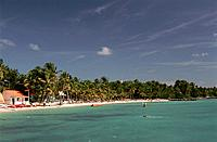 French Caribbean _ Caribbean Islands _ Guadeloupe _ Grande Terre _ St Francois _ Beach of Meridien